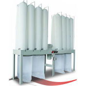Kufo Seco 10HP 3 Phase Vertical Bag Dust Collector