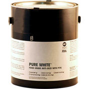 PURE WHITE™ Food Grade Anti Seize w/PTFE 475°F, 8 Lb. Pail 4/Case - Pkg Qty 4