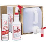 Battery Cleaner w/Indicator, 5 Gallon Bottle w/Spigot 1/Case