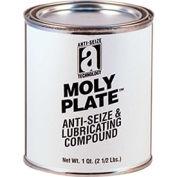 MOLY PLATE™ Anti-Seize w/Molybdenum Disulfide 2400°F, 2 Lb. Can 12/Case - Pkg Qty 12