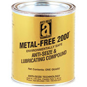 METAL-FREE 2000™ Non-Metallic Anti-Seize 2400°F, 2-1/2 Lb. Can 12/Case - Pkg Qty 12