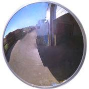"""Acrylic Outdoor Convex Mirror, 36"""" Diameter"""