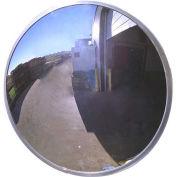 """Acrylic Outdoor Convex Mirror, 48"""" Diameter"""