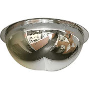 "270-Degree Dome Mirror, 18"" Diameter"