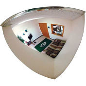 "Quarter Dome Mirror, 26"" Diameter - Pkg Qty 3"
