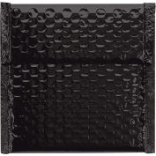 "7"" x 6-3/4"" Black Glamour Bubble Mailer 72 Pack"