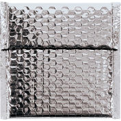 "7""x6-3/4"" Silver Glamour Bubble Mailer, 72 Pack"