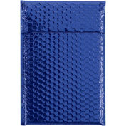 "7-1/2"" x 11"" Blue Glamour Bubble Mailer 72 Pack"