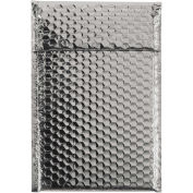 "7-1/2""x11"" Silver Glamour Bubble Mailer, 72 Pack"
