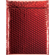 "9""x11-1/2"" Red Glamour Bubble Mailer, 100 Pack"