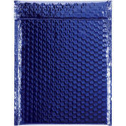 "9"" x 11-1/2"" Blue Glamour Bubble Mailer 100 Pack"