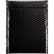 "9"" x 11-1/2"" Black Glamour Bubble Mailer 100 Pack"