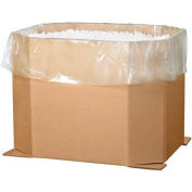 "Octagon Bulk Bin Bottoms, 46"" x 38"" x 36"", Kraft, 5 Pack, 463836OCT"