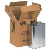 "F-Style Gallon Can Hazmat Boxes 8-7/8""x6-5/8""x10-1/4"", 20 Pack"