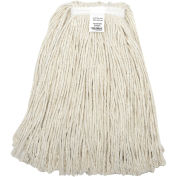 Global Industrial™ 24 oz. Cotton Cut-End Mop Head, 4Ply, Narrow Band