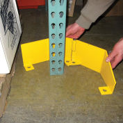 Extra Heavy Duty Frame Guard, Right, Steel, Yellow