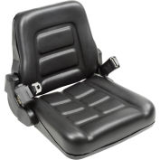 Vinyl Forklift Truck Seat with Seat Belt
