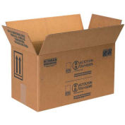 """Box Partners 1 Gallon Paint Can Box - 2 Cans 17"""" x 8-1/2"""" x 9-5/16"""" 25 Pack, HAZ1045"""