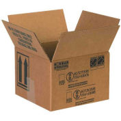 "Box Partners 2 - 1 Quart Paint Can Box 5-1/8"" x 5-1/8"" x 6-3/16"" 25 Pack, HAZ1041"