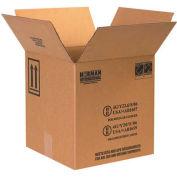 """Box Partners 4 - 1 Gallon Plastic Jug Haz Mat Box 12-1/16""""x12-1/16""""x12-3/4"""" 20 Pack, HAZ1052"""