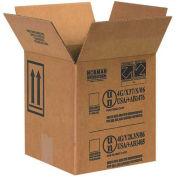 "Box Partners 1 Gallon Paint Can Box 17"" x 8-1/2"" x 9-5/16"" 25 Pack, HAZ1044"