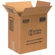 """Box Partners 1 Gallon F-Style Paint Can Box - 2 Cans 11-3/8"""" x 8-3/16"""" x 12-3/8"""" 20 Pack, HAZ1048"""