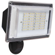 Amax Lighting LED-SL42BZ LED Security Light Wall Pack, 42W, Bronze