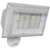Amax Lighting LED-SL42WH LED Security Light Wall Pack, 42W, White