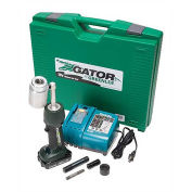 Greenlee Battery-Powered Knockout Punch Driver Tool Kit, LS50L11A