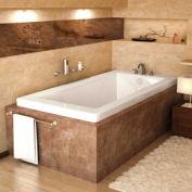 Atlantis Whirlpools 4272VN Venetian Rectangular Soaking Bathtub, 42 x 72, Left or Right Drain, White