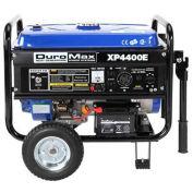 DuroMax Gas Generator W/Electric Start & Wheel Kit, RV Grade 4,400W 7.0HP