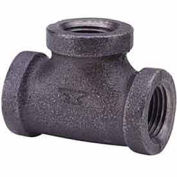 "3/4"" Tee, Black Malleable, 150 PSI, Lead Free"