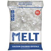 Snow Joe MELT50CC-PLT MELT 50 Lb. Bag Calcium Chloride Crystals Ice Melter - 49 Bags/Pallet