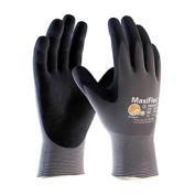 G-Tek® MaxiFlex Nitrile Coated Knit Nylon Gloves, X-Small, 12 Pairs