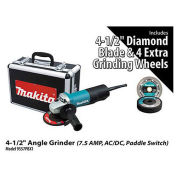 "Makita 4-1/2"" Angle Grinder Power Pack, 9557PBX1"
