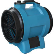 "8"" Industrial Confined Space Axial Fan, Variable Speed 1/3 HP"