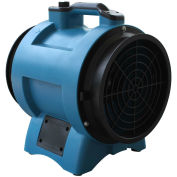 "12"" Industrial Confined Space Axial Fan, Variable Speed 1/2 HP"