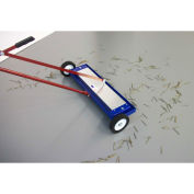 """AMK Magnetics Lever Release Magnetic Sweeper - 26""""W"""