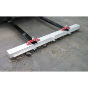 "AMK Magnetics Double Strength Load Release RoadMag Sweeper - 96""W"