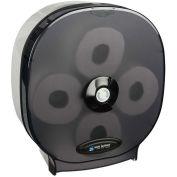San Jamar 4-Station Carousel Bath Tissue Dispenser, Classic Black Pearl