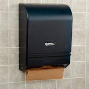 Plastic C-Fold/Multi-Fold Paper Towel Dispenser, 350 C-Fold/540 Multi-Fold, Smoke Gray