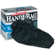 Handi-Bag Super Value Pack Trash Bag 30 Gallon 0.69 Mil, Black 60 Bags/Box