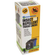 Stout Insect-Repellent Trash Bag 33 Gallon 1.30 Mil, Black 10 Bags/Box