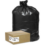 Handi-Bag Super Value Pack Contractor Bag 42 Gallon 2.50 Mil, Black 50 Bags/Box