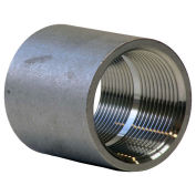 "1-1/2"" 304 Stainless Steel Coupling, FNPT, Class 150, 300 PSI"