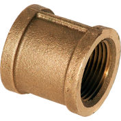 "1-1/2"" Coupling, Lead Free Brass, FNPT, 125 PSI"
