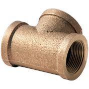"3/4"" Tee, Lead Free Brass, FNPT, 125 PSI"