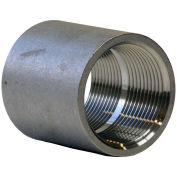 "3/4"" Coupling, 304 Stainless Steel, FNPT, Class 150, 300 PSI"