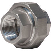 "1"" Union, 304 Stainless Steel, FNPT, Class 150, 300 PSI"