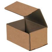 "6""x5""x3"" Corrugated Mailer, 200lb. Test/ECT-32 Kraft - Pkg Qty 50"